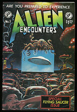 Alien Encounters Special Flying Saucer Issue One-Shot FantaCo 1981 Mars Attacks