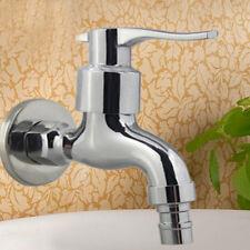 Garden Washing Machine Water Tap Faucet Polished Chromeplate Finish