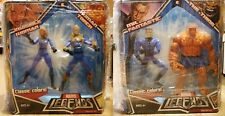 "Marvel Legends 6"" - Fantastic 4 Classic colors Hasbro 2 packs all 2 pairs MISB"