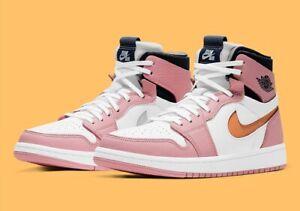 Nike Air Jordan Retro 1 High Zoom Air CMFT Pink Glaze Size 7.5W / 6M CT0979-601