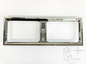 1980-1988 Lincoln Town Car Headlight Door Chrome Bezel (E0VY13064A) NOS