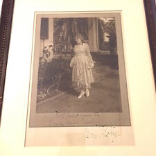 Vintage Mary Pickford Autograph