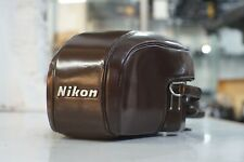 Nikon F FTN Photomic Brown Leather Case