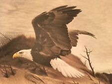 Charles Frace ( American Eagle at Walking Dunes ) autographed lithograph Print
