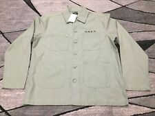 New OBEY Lookout Utility Jacket Mens Size Large Light Army Green 121800300L