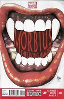Morbius Comic 2 The Living Vampire Cover A Mike Deodato First Print 2013 Marvel