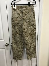 USMC Military TRU-SPEC Tactical Digital Desert Camo SMALL REG NEW W Tag Tru Spec