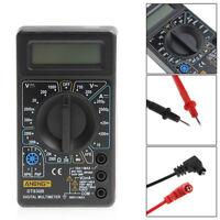 DT830B LCD Digital Auto Voltmeter Ammeter Ohmmeter Multimeter Volt AC/DC Tester