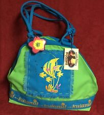 KULANUI of HAWAII SHOULDERBAG TOTE FISH DESIGN  NEW WITH TAGS  #20415