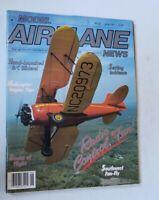Model Airplane News Magazine June 1987