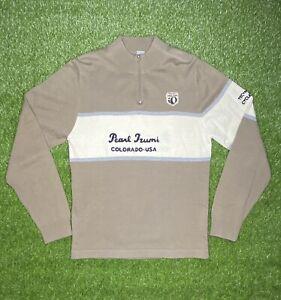 Pearl Izumi Colorado 1/4 Zip Sweater Wool Men's Size M
