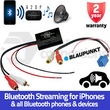 Blaupunkt Bluetooth A2DP Music Streaming Interface Adapter for radio AUX inputs