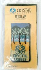 Stitch & Zip Kit By Alice Peterson For Crystal Cruises ~ Palm Tree ~ 14 Mesh