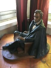 Tom Clark Cairn Abraham Lincoln 1989 Signed Limited Edition Statute