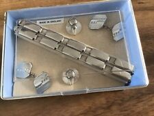 Vintage Armbands Sleeve Holders Cufflinks Studs Original Box Set Peaky Blinders