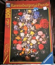 "NUOVO Puzzle 1500pc ""Bouquet"" Art by Ravensburger"