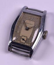 Vintage Art Deco Bifora Handaufzug Damenuhr Tonneau Gehäuse Formwerk