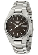 SEIKO SNK605 SNK605K1 Men Automatic See Through 21 Jewels Steel Watch