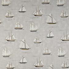 MTM roman blind in Prestigious coast collection/ mariner pebble /boat fabric