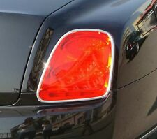 BENTLEY CONTINENTAL FLYING SPUR CHROME REAR TAIL LIGHT TRIMS