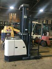 "2005 Crown Forklift Order Picker 3000Lb Cap. 240Lift 42"" Forks W/Battery&Chgr"