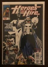 Heroes For Hire 9 NM 9.4 MARVEL COMICS FEATURING THE PUNISHER