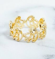 Official Gold Plated Simba Outline Lion King Ring