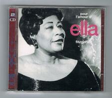 ♫ - POUR L'AMOUR D'ELLA FITZGERALD - 2 CD SET 32 TITRES - TRÈS BON ÉTAT - ♫