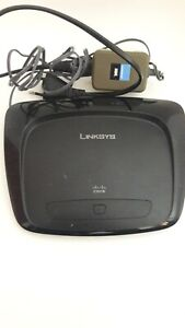 Used Linksys wireless router working condition 4+