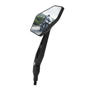 Oxford Products OX154 Diamond Pro Universal Fit Motorcycle Mirror - Black