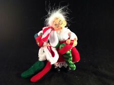 """Annalee Mrs. Claus with Stockings 2004, 6"""" Tall"""