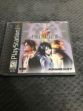 Final Fantasy VIII 8 ORIGINAL (Sony Playstation 1 ps1) Complete w/ Walk Through