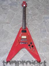 red VANTAGE FV 575 Matsumoko flying V E-Gitarre Gitarre vintage MiJ Japan 1982