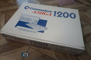 Amiga 1200 Packaging Only Box & inserts no computer
