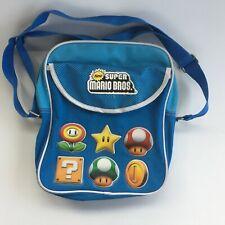 New listing New Super Mario Bros Shoulder Book Bag Purse Luggage Japan