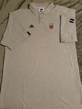 MLS DC UNITED POLO SHIRT MEN'S SIZE 2XL USED: adidas BRAND - MAJOR LEAGUE SOCCER