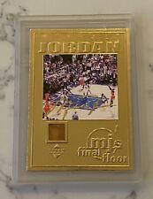 Upper Deck Limited Edition, Michael Jordan Final Floor Gold Basketball Card 2000