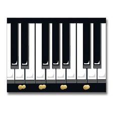 Key Holder Piano Keys, Key Hanger, Housewarming, Musical Gifts, Weddings 272008Y