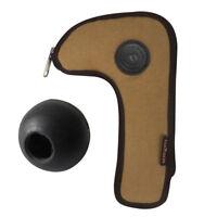 Tourbon Hunting Rifle Bolt Holder Canvas Pouch/Gun Mounted Bolt Knob Rubber Ball
