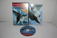 Ace Combat 4 Shattered Skies (Sony Playstation 2, 2001) PS2 Complete With Manual