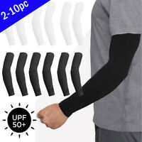10 pcs Cooling Arm Sleeves Cover Basketball Golf Sport Anti  Sun UV Protection