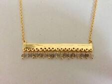 Natural Labradorite Chain Fashion Necklaces & Pendants