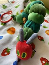 hungry caterpillar Plush Rattle Pull toy