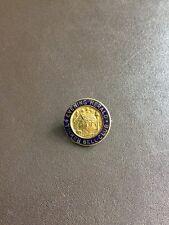 Vintage Metal Enamel Badge Tinker bell Club Evening Herald