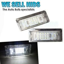 BMW E46 4DR 98-05 18 SMD NUMBER PLATE UNIT MODULE CANBUS ERROR FREE PURE WHITE