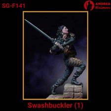 "Andrea miniatures Figurine à peindre ""swashbuckler (1)"" SG-F141 Unpainted kit"