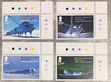 British Antarctic Territory 2013 Halley VI Research Station Stamps (4) MNH
