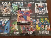 9 Dc Comics Graphic Novel Lot HC Batman, Superman, Justice League more!