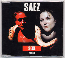 CD maxi Damien SAEZ Sexe Remixes  +ULTRA RARE+
