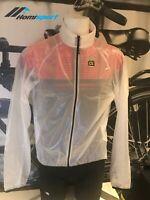 Ale Cycling Jacket Klimatik Vetta Windfront White|BRAND NEW